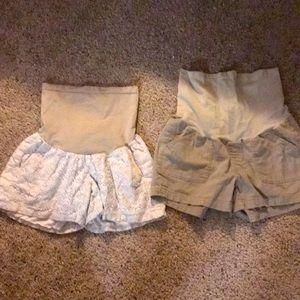 Maternity shorts BUNDLE.😍💜💖